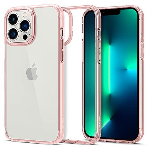Spigen Ultra Hybrid Designed for iPhone 13 Pro Max Case (2021) - Rose Crystal
