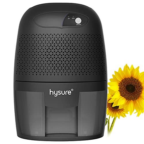 Hysure Deshumidificador Compacto y portátil, 500 ml, Protege Frente a la Humedad, la Suciedad y el Moho en casa, en la Cocina, en dormitorios, caravanas, oficinas y garajes