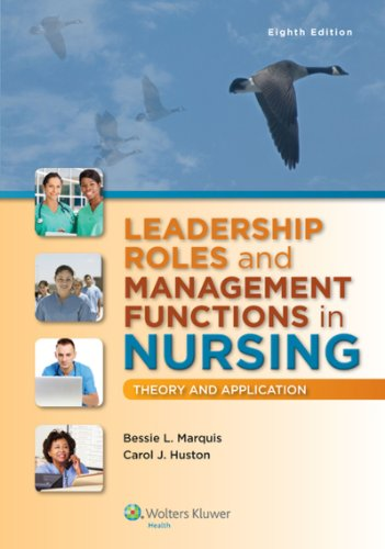 41Ak 8co+uL - Leadership Roles and Management Functions in Nursing: Theory and Application