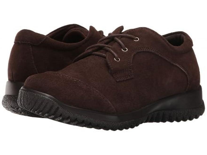 山意味のある所有者Drew(ドリュー) レディース 女性用 シューズ 靴 オックスフォード 紳士靴 通勤靴 Hope - Brown Suede [並行輸入品]