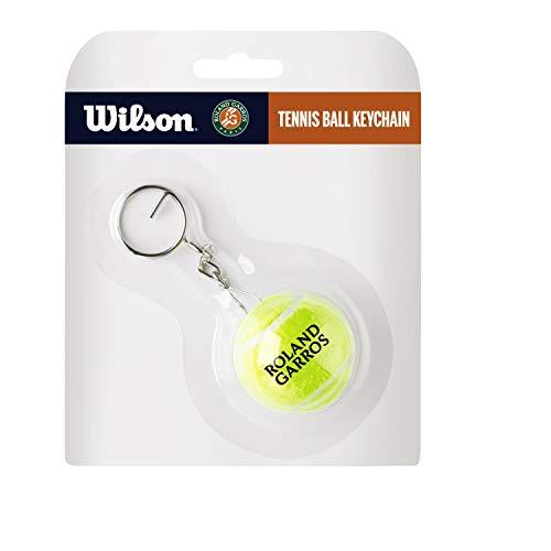 Wilson Unisex Rg Tennis Ball Keychain Tennisball Schlüsselanhänger, Yellow, Einheitsgröße