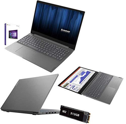 """Notebook Lenovo full hd 15.6"""" Intel 10Gen. i5-1035G1 3.6Ghz,Ram 12Gb Ddr4,Ssd M2 Nvme 512Gb,Hdmi,3xUSB 3.0,Lettore,Wifi,Bluetooth,Webcam,Windows 10pro"""