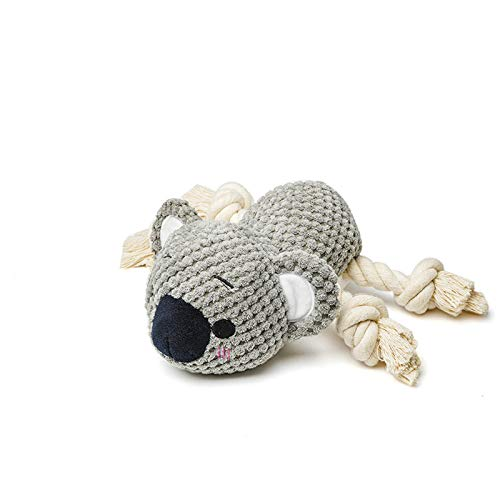 """2Pack (""""Koala""""and""""Panda""""),Squeaky Chew Toys for Puppy Small Medium Dogs,Puppy Toys,Chew Toys for Puppies Teething,Durable and Teeth Cleaning Pet Toys for Dogs"""