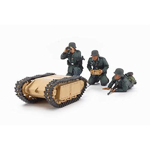 タミヤ 1/35 ミリタリーミチュアシリーズ No.357 ドイツ軍 突撃工兵チーム ゴリアテセット プラモデル 35357