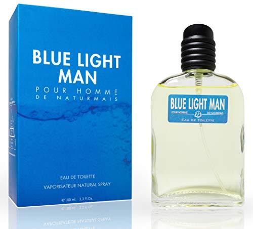 Blue Light Eau De Parfum Intense 100 ml. Compatibile con Light Blue Uomo, Profumo Equivalente Uomo