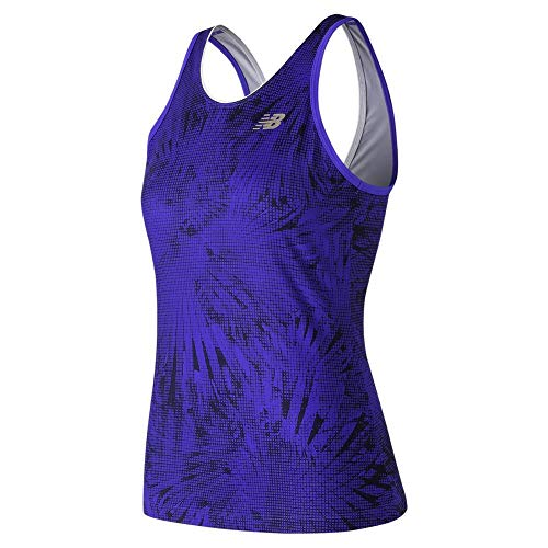 New Balance Camiseta de Tirantes para Mujer con Estampado...