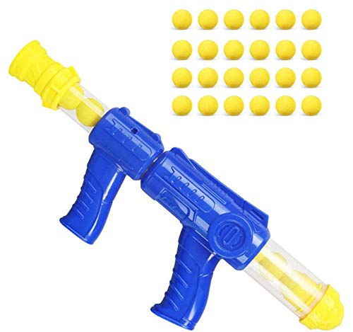 VIPAMZ Toy Guns Air Popper Power Poppers with 24 Foam Balls Bullets-...