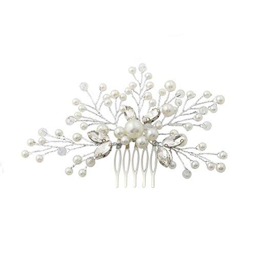 Horquilla para el pelo, accesorio vintage para el pelo de novia, peinetas...