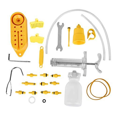 Starbun Bleed Set, Idraulico della Bici della Bicicletta del Freno a Disco Olio Minerale spurgo Repair Tool Kit Freno a Disco Bleed Kit