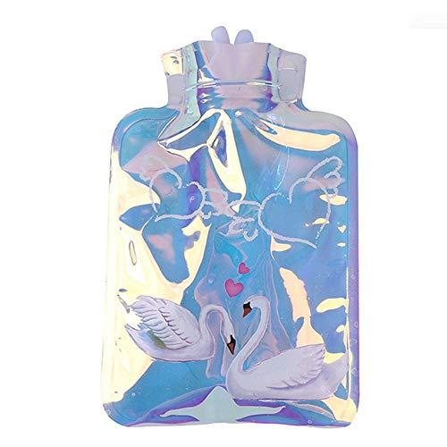 T-C son portadoras, Botella de agua caliente, caucho natural caliente bolsa de agua, de gran capacidad Botella nuevo láser de la historieta caliente Inyección de agua de agua portátil a prueba de expl