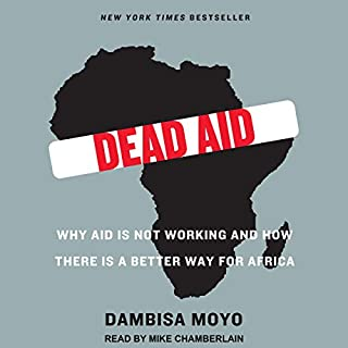 Dead Aid audiobook cover art