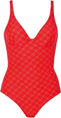 Joop! , Damen Badeanzug mit Einlagen ohne Bügel, Ponza 613005 (42B, red-Coral (060))
