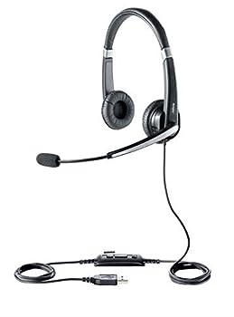 Jabra UC VOICE 550 Duo Corded Headset for Softphone  Renewed
