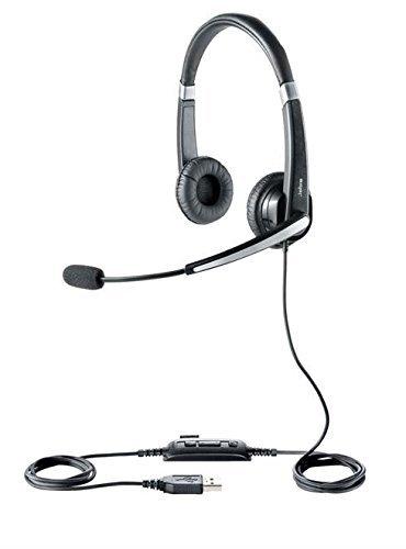 Jabra 550 Duo - Auriculares de diadema, color negro