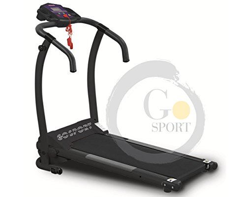 Go Sport - Cinta de correr eléctrica Plegable, Sin Sensor Cardio, Motor...