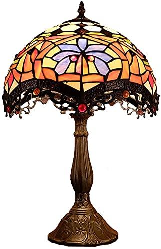 GDICONIC Lámpara de Mesa Lámpara de Mesa Decorativa Retro Estilo Barra de Estudio de Estilo Europeo Sala de Estar Dormitorio lámpara de Noche lámpara de Mesa 30 * 50 cm