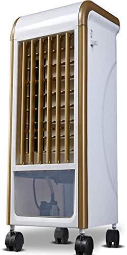 Tragbare Hitze aus Edelstahl Haushalt Raumheizung, Klimaanlage Ventilator Multifunktionales, Ventilator Doppelzweck zum Heizen und Kühlen, Haushaltskühlschrank, kleine Befeuchters Kälte Wasserdichte s