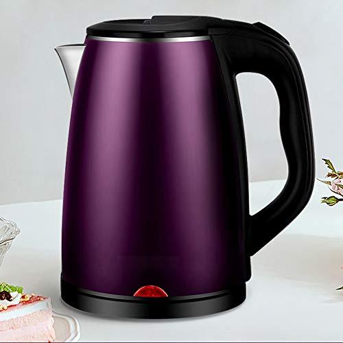 Bouilloire en Acier Inoxydable Kettle 2,3 litres Idéal pour Eau Chaude 1500W Rapide,Violet