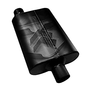 Flowmaster 9430452 Super 44 Muffler - 3 00 Center IN  2 50 Dual OUT - Aggressive Sound - image