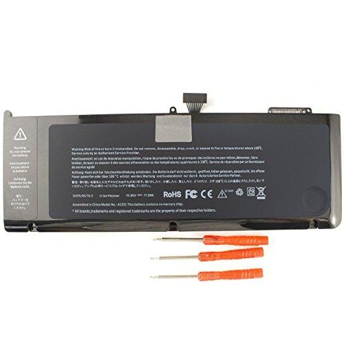 Gomarty A1321 - Batería para MacBook Pro de 15' (Compatible con la versión 2009 a 2010)
