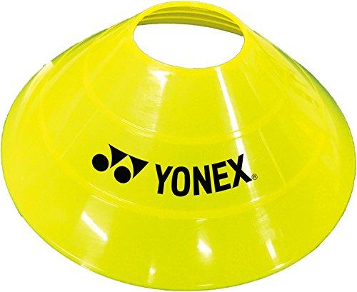 ヨネックス(YONEX) テニス バドミントン トレーニング マーカーコーン (8枚入り) AC511 イエロー