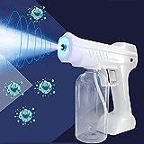 Nano atomizador pistola de vapor eléctrico ulv nano pistola de pulverización mini mano de mano máquina de pulverizador de niebla de niebla atomizador mosquitero asesino desinfección de automóvil para