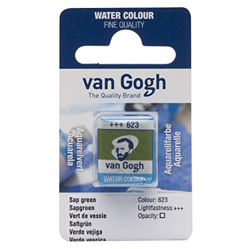 Van Gogh Aquarellfarbe, Saftgrün, 1-2 Napf [Spielzeug]