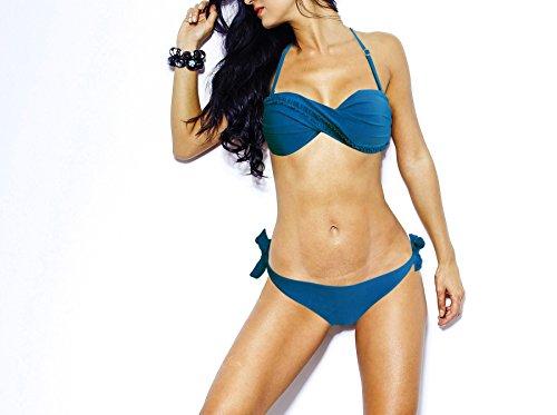 Bikini set met opschrift