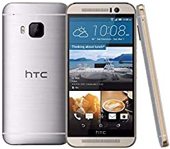 "HTC One M9 5"" 4G LTE 32GB T-Mobile Android Smartphone - (Silver/Gold) (Renewed)"