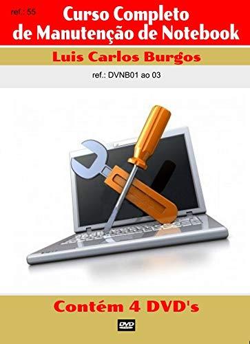 Curso em DVD aula Notebook. Curso Completo 4 Vol. Prof.Burgos