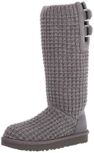 UGG Classic Solene Tall Boot, Charcoal, Size 8