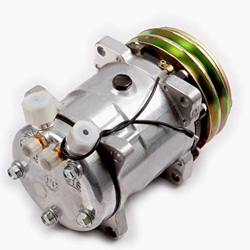 QUALINSIST Air Conditioning Compressor fit for 1984-1987 for Jeep for Cherokee AC Compressor -  104032-5279-1412313211