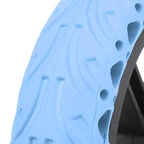 SHYEKYO Explosion Scooter Ruedas traseras Neumático Trasero Absorción de Golpes Durable, para Bicicletas eléctricas, automóviles y Scooters(Blue)