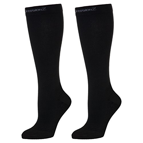 CompressionZ Compression Socks for Men & Women - 30 40 mmHg Graduated Medical...