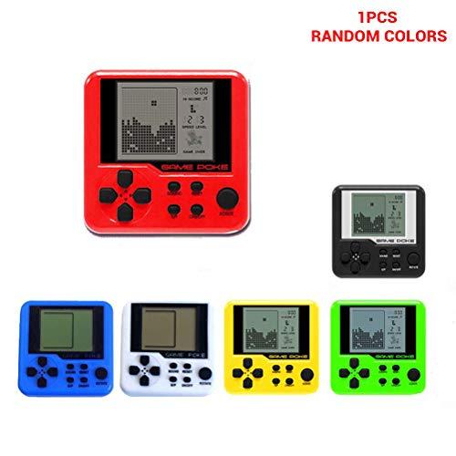 JiuRong Handheld Spielekonsole Tetris Handheld Spielekonsole mit 23 Tragbaren Mini Retro Game Playern Handheld Pocket Gameboy Geschenk für Kinder und Erwachsene