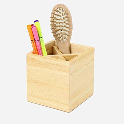 Aufbewahrungsbox aus Holz Aufbewahrungsbox for Schreibtische aus Japan Schreibtisch-Aufbewahrungsbox Büro Verschiedenes Informationsbox Aufbewahrungsbox (Color : Natural, Size : A)