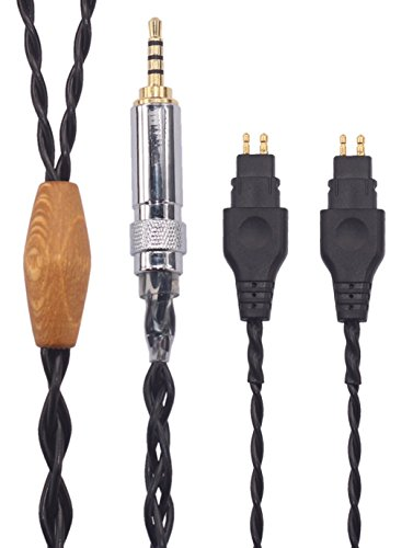 KK Cable KTH-O.F Compatible Audio Upgrade Cable Replacement for HD580, HD600, HD650 etc. Headphones, 2.5mm Trrs Balanced Male Plug. Audio Upgrade Cable. KTH-O.F