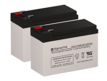 CP1500AVRLCD UPS Replacement Batteries - Set of 2