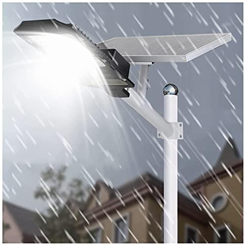 Luz De Calle Led Con Energía Solar, 100W ~ 400W Luz De Sensor De Movimiento De Seguridad De Alto Brillo Con Control Remoto - Luces De Inundación Solares Impermeables Ip65 Para Parques / Garajes / Il