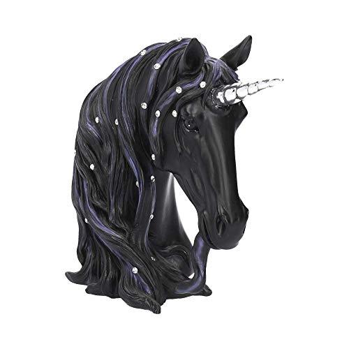 Nemesis Now - Figura Decorativa (19 cm, Resina Negra), diseño de Medianoche,...