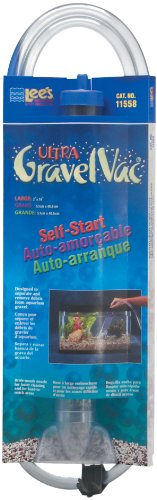 Lee's Ultra GravelVac, Self-Start with Nozzle & Hose Clip - 16' Large