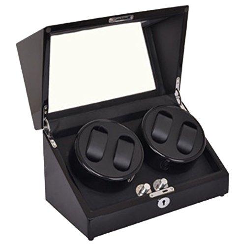 Good Shopping Caja Giratoria Relojes Watch Winder Devanadera giratoria de Lujo automática 6 + 7 Almacenamiento de Cuero (2 + 0,4 + 6,2 + 3,6 + 7) Caja de Reloj (Color : 4+0B)