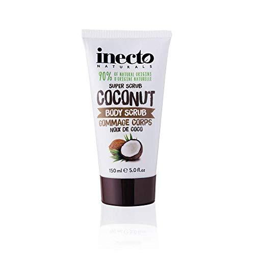 Inecto Naturals - Exfoliante corporal de coco con aceite puro de coco orgánico