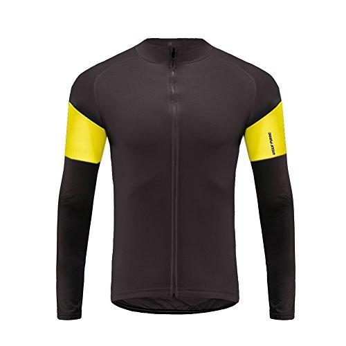 Uglyfrog Langarm-Radsport-Trikot Breathable High Top Qualität Full Zipper MTB Radkleidung Winter Rennrad Mannschaft Fahrrad-Kleidung