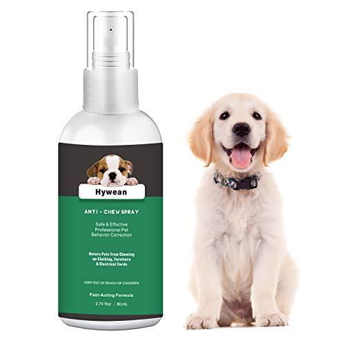 Hywean Spray Protege Los Muebles Anti Arañazos para Perros Y Gatos para Evitar Masticar 80 Ml