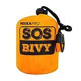 MEKKAPRO SOS Emergency Thermal Bivy Sleeping Bag with Survival...