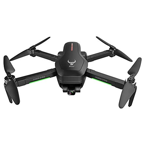 SG906 Pro2 1.2 km FPV 3-Achsen-Gimbal 4K-Kamera Wifi GPS RC-Drohnen-Quadcopter Faltbarer GPS- / optischer Flusspositionierungs-Schwebeflug RC-Drohnen-Quadcopter