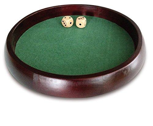 Engelhart - Gioco da tavolo, Pokerpiste, Pista per gioco dadi, 34 cm - 300807