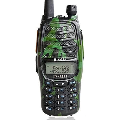HJWL Walkie Talkie Radio De Dos Vías 8w De Doble Banda UHF Y VHFPortable Radio Comunicación UV-82 Plus Transmisor-Receptor De Radio-Aficionado Regalo (Color : Green)