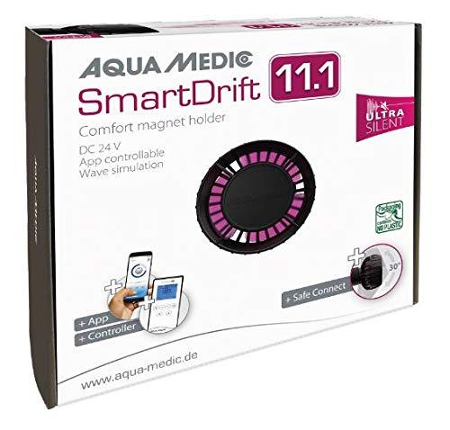 "Aqua Medic SmartDrift 11.1 Kompakte ""Ultra Silent"" Strömungspumpe, Steuerung über App oder Controller (inkl.)"